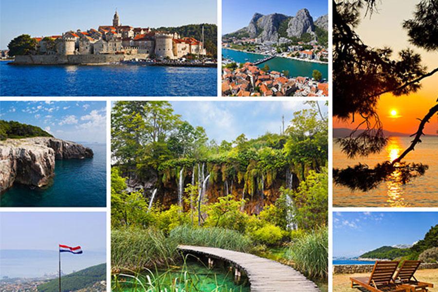 שילוב של טבע, ערים עתיקות ונופש בקרואטיה וסלובניה